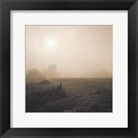 Bordeaux Sunrise Framed Print