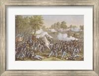 Framed Battle of Wilson's Creek