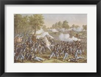 Framed Battle of Wilson's Creek