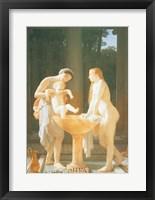 Framed Le Bain (The Bath), 1868
