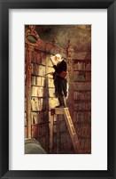 Framed Bookworm