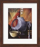 Framed Retro Tea