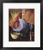 Retro Tea Framed Print