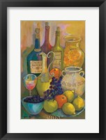 Mediterranean Kitchen IV Framed Print