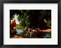 Big Moment Framed Print