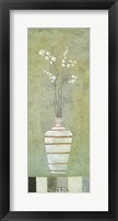 Framed Alfresco Flowers I