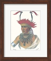 Framed Otto Half Chief