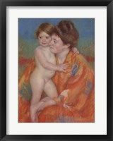 Framed Woman with Baby