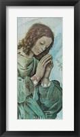 Framed Adoring Angel