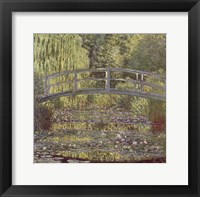Bassin aux Nympheas Framed Print