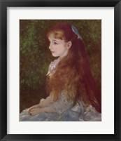 Framed Mademoiselle Irene