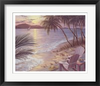 Serenade of Waves Framed Print