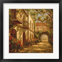 Framed Along The Passageway