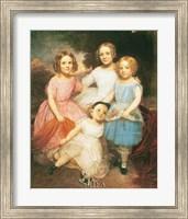 Framed Adrian Baucker Holmes Children