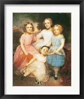Framed Adrian Baucker Holmes Children