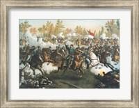 Framed Battle of Cedar Creek