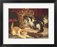 Framed Kittens, 1893
