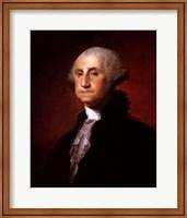 Framed George Washington - Left