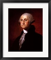 George Washington - Left Framed Print