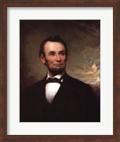 Framed Abraham Lincoln