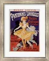 Framed Pantomimes Lumineuses