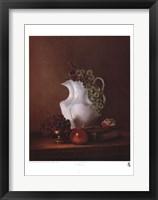 Framed Still Life with Grapes