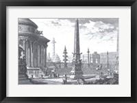 Framed Campidoglio Antico