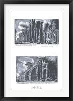 Framed Avanzo degli archi Neroniani