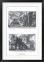 Veduta degli Avanzi Framed Print