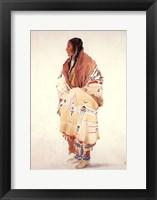 Framed Chan-Cha-Uia-Teuin, Teton Woman