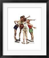Oh, Yeah Framed Print