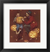 Framed Ghostly Gourds