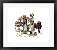 Framed Country Pedlar