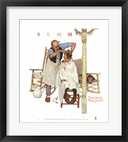 Shear Agony Framed Print
