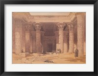 Framed Grand Portico of the Temple of Philae