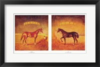 Framed Stable Life (Set of Two)