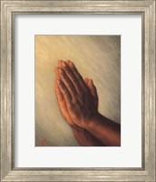 Framed Praying Hands