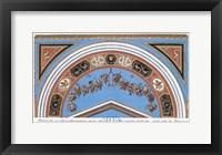 Framed Detail/Loggia in the Vatican I