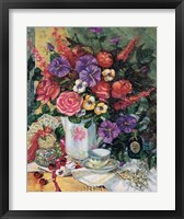 Victorian Bouquet II Framed Print