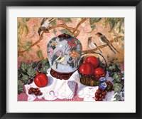 Framed Grapes and Pomegranates