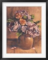 Framed Vintage Chic Roses II