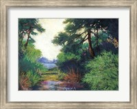 Framed Inlet Pines