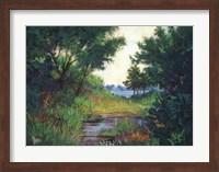 Framed Marsh at Fort Morgan