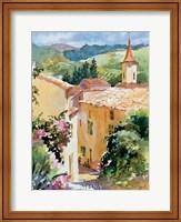 Framed French Vineyards