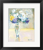 Framed Daisies and Pansies, a Loose Bond