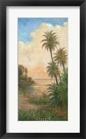 Framed Tropical Serenity I