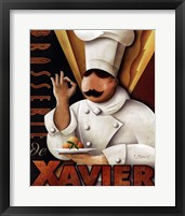 Framed Brasserie de  Xavier