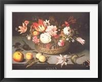 Framed Corbeille de Fleurs