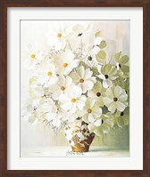 Framed White Bouquet