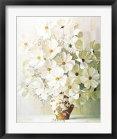 Framed White Bouquet